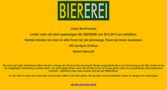 Preview of biererei.at