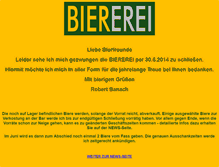 Tablet Preview of biererei.at